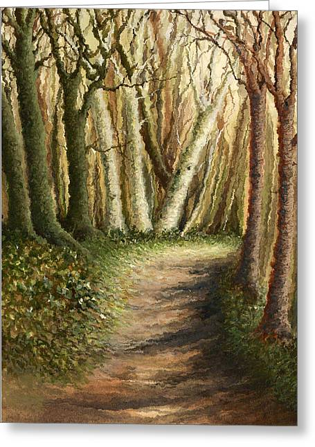 Woodland Walk Greeting Card