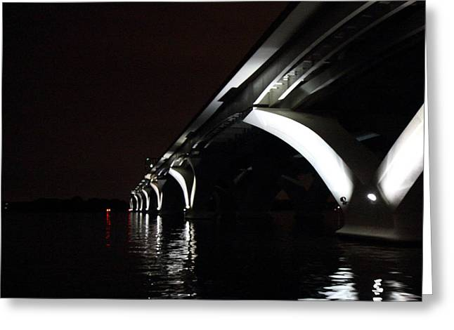Woodrow Wilson Bridge - Washington Dc - 011319 Greeting Card