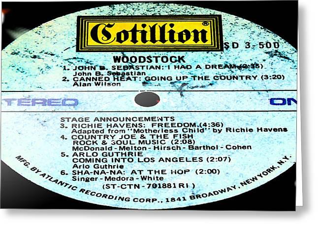 Woodstock Side 1 Greeting Card