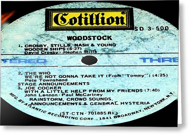 Woodstock Side 3 Greeting Card
