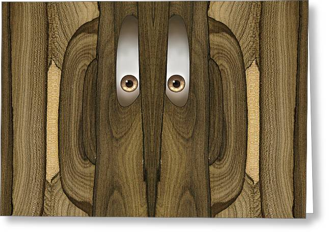 Woody #19 Greeting Card by Rick Mosher