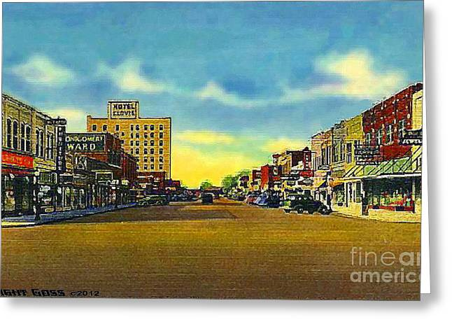 Woolworth's In Clovis N M 1940 Greeting Card
