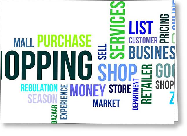 Word cloud shopping digital art by amir zukanovic word cloud shopping greeting card by amir zukanovic m4hsunfo