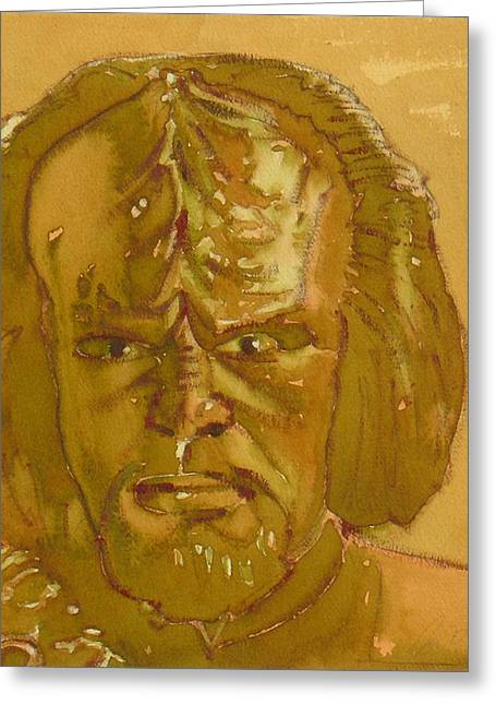 Worf Greeting Card