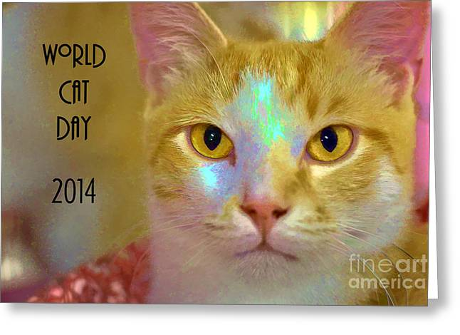 World Cat Day Greeting Card