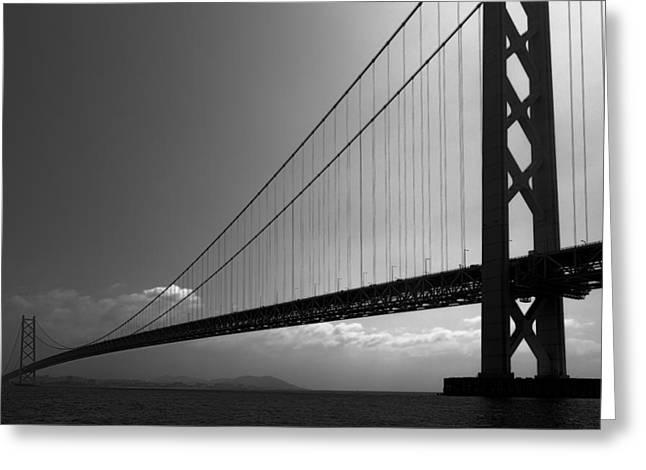 World Record Bridge Greeting Card