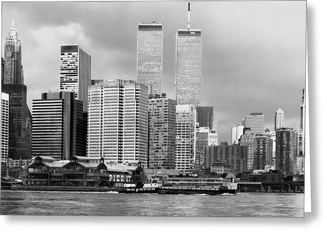 New York City - World Trade Center - Vintage Greeting Card