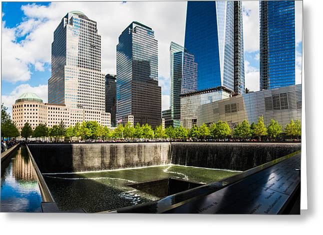 World Trade Center - South Memorial Pool Greeting Card