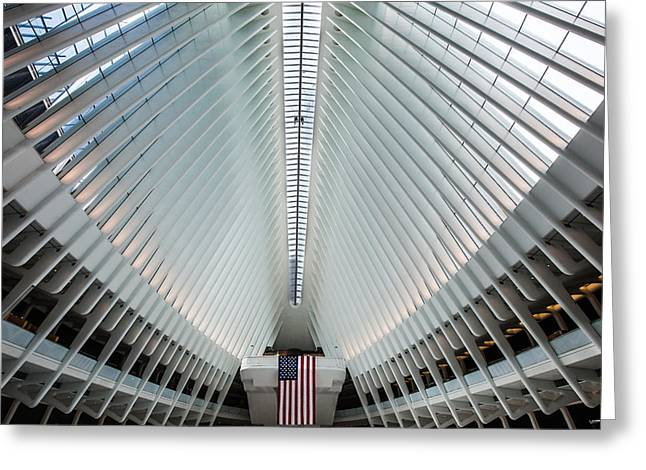World Trade Center Station Greeting Card