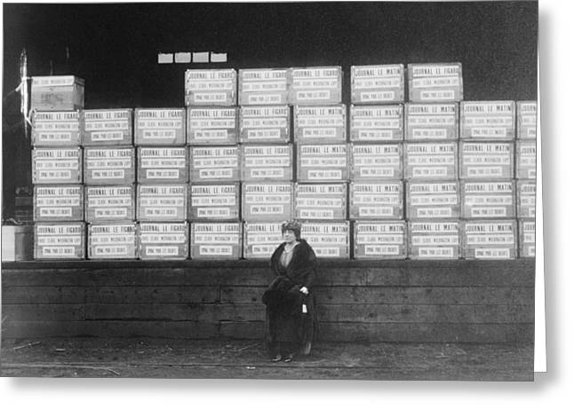 World War I Cigarette Shipment Greeting Card