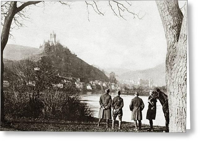 World War I Cochem, C1918 Greeting Card by Granger