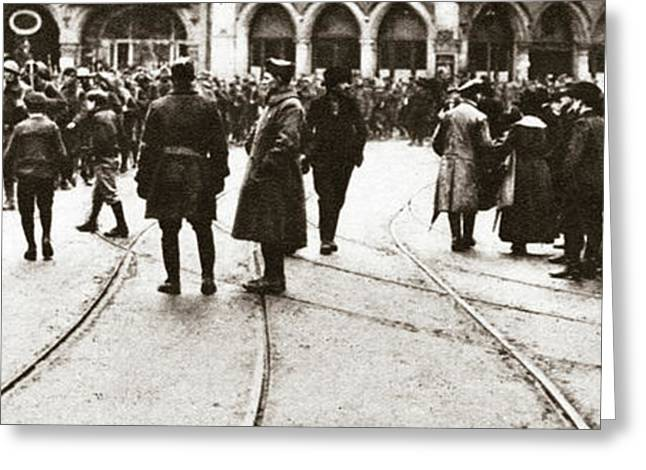 World War I Occupation Greeting Card by Granger