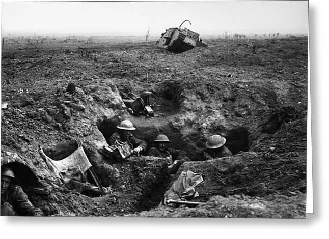 World War I Ypres, 1917 Greeting Card by Granger