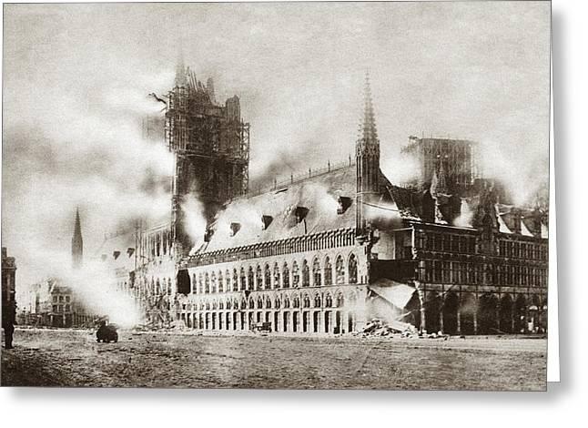 World War I Ypres Greeting Card by Granger