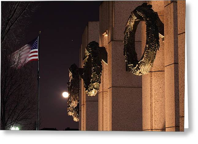 World War II Memorial - Washington Dc - 011323 Greeting Card by DC Photographer