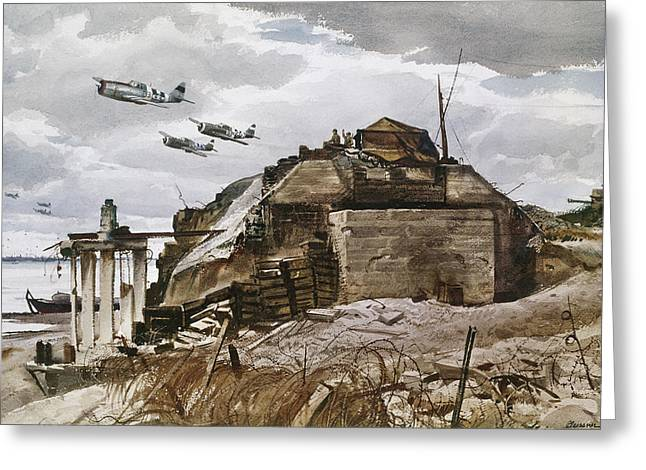 World War II: Normandy Greeting Card