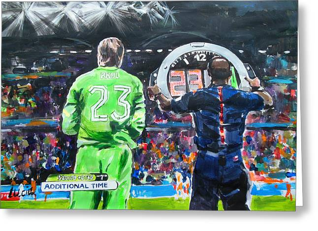 Worldcup 2014 - The Moment Greeting Card