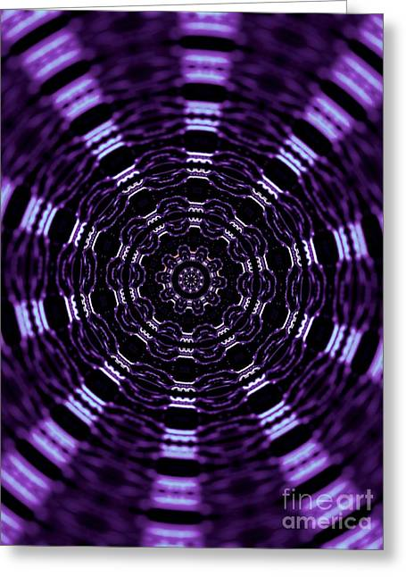 Wormhole Greeting Card by Robyn King