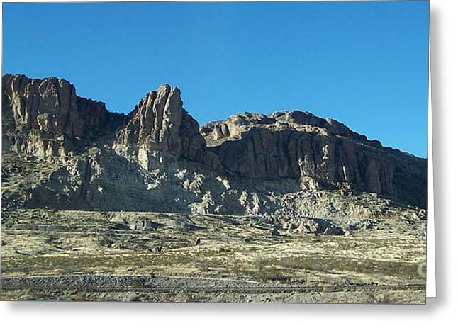 Greeting Card featuring the photograph Western Landscape by Eunice Miller