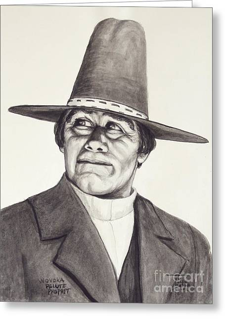 Wovoka - Paiute Prophet Greeting Card