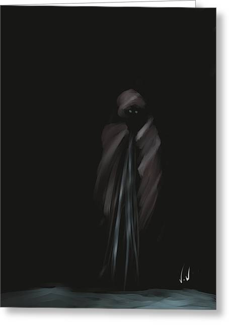 Wraith Greeting Card
