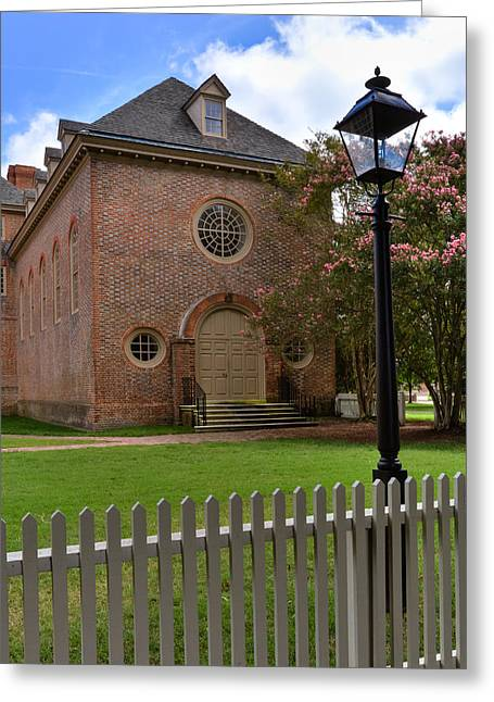 Wren Chapel At William And Mary Greeting Card