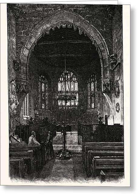 Wrexham The Choir Greeting Card