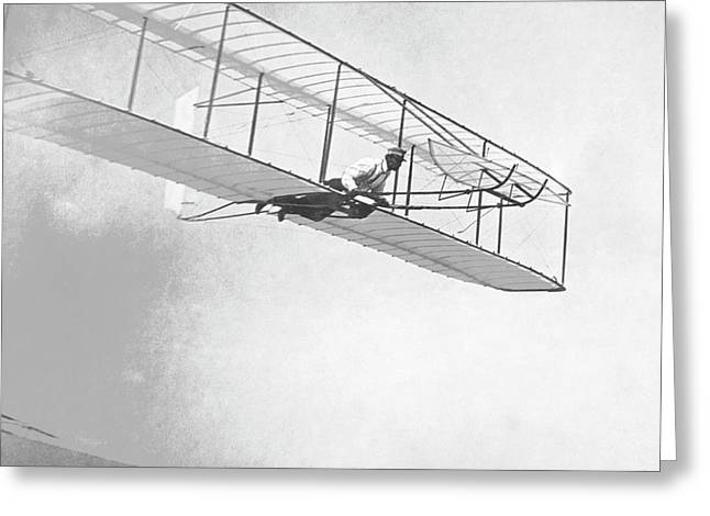 Wright Brothers' Glider Greeting Card
