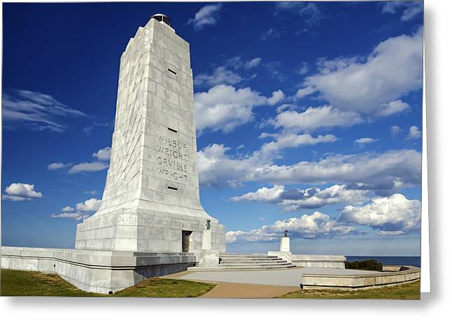 Wright Brothers Memorial D Greeting Card