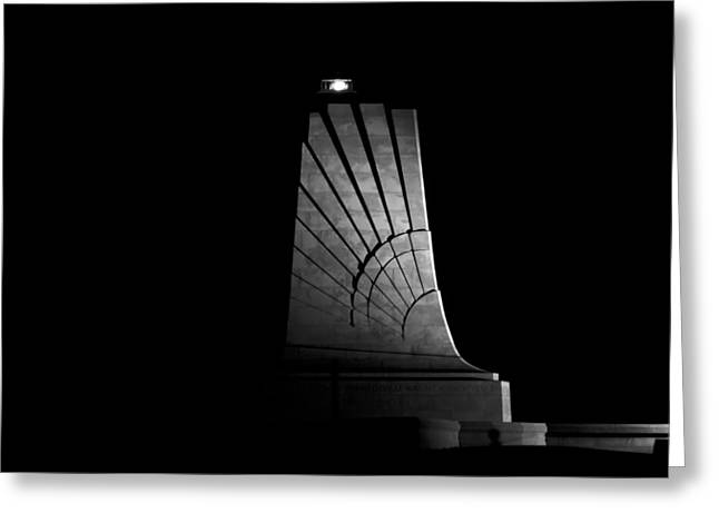 Wright Brothers National Memorial Greeting Card by Greg Reed