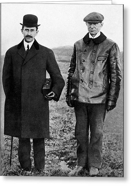Wright Brothers Greeting Card