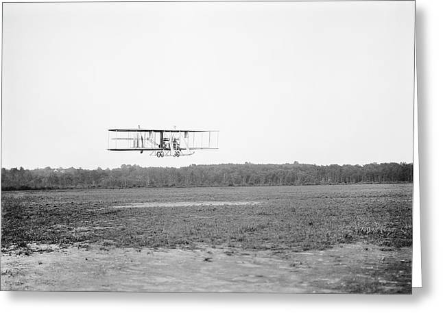 Wright Model B Airplane Greeting Card by Library Of Congress