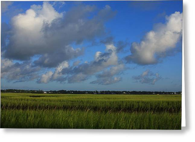Wrightsville Beach Marsh Greeting Card by Mountains to the Sea Photo