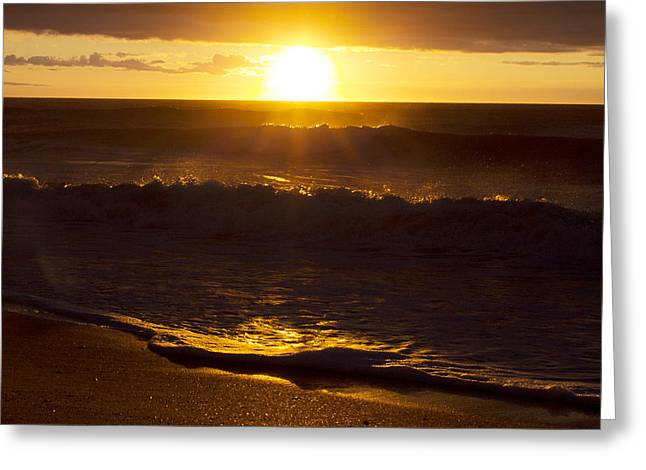 Wrightsville Beach Sunrise Greeting Card