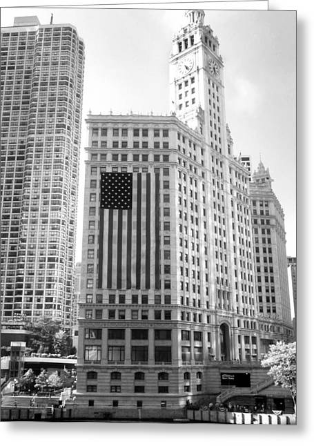 Wrigley Building Chicago Greeting Card