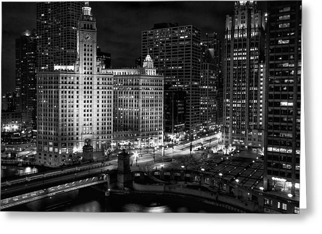 Wrigley Building In Chicago Greeting Card