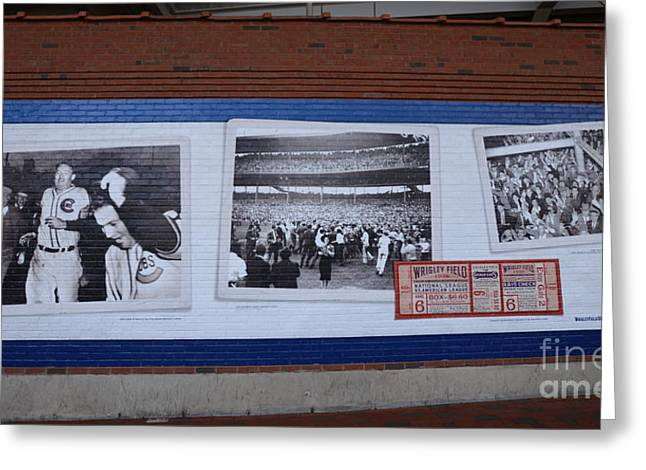 Wrigley Images - 1938 Greeting Card by David Bearden