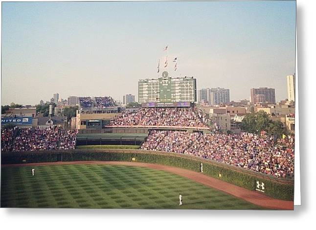 Wrigley Greeting Card by Mike Maher