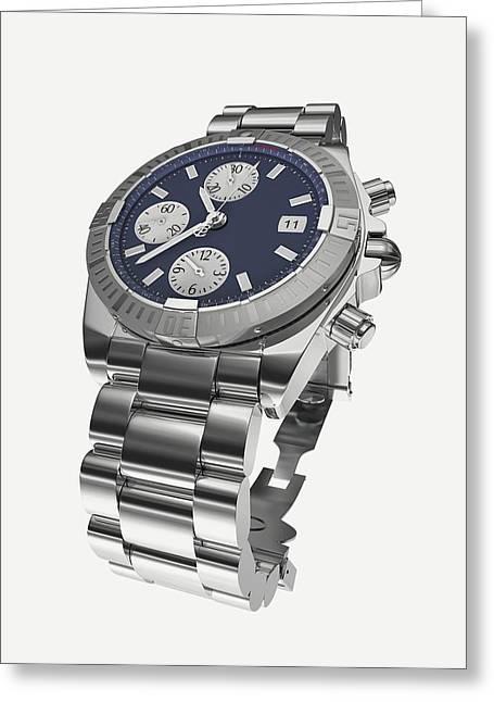 Wristwatch Greeting Card by Dorling Kindersley/uig