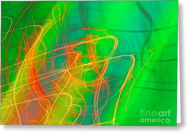 Write Light Rainbow Greeting Card
