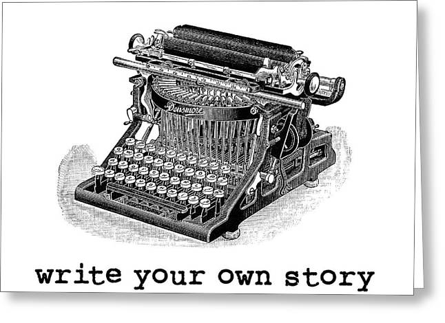 Write Your Own Story Greeting Card