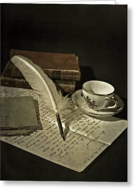 Writing Greeting Card by Joana Kruse