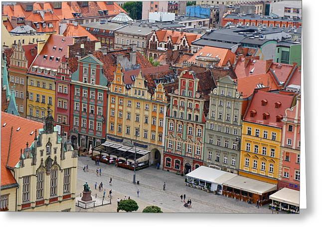 Wroclaw Greeting Card by Kees Colijn