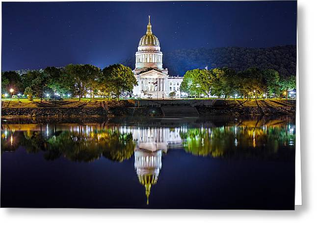 Wv Capitol Greeting Card