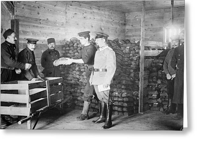 Wwi Prisoners Of War Greeting Card by Granger