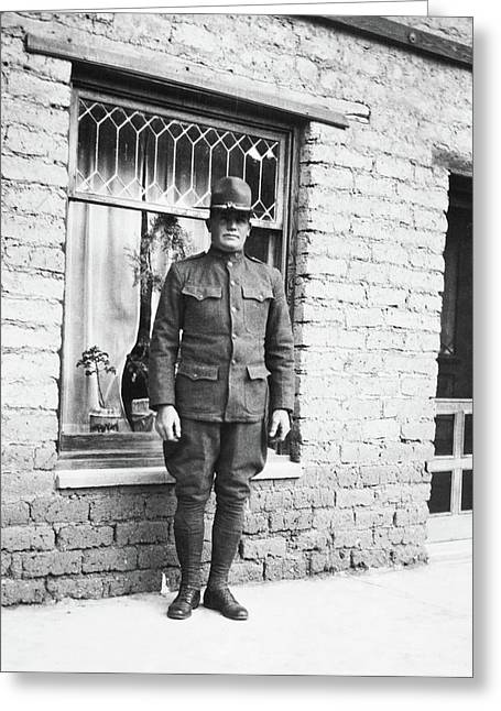 Wwi Soldier, C1917 Greeting Card by Granger