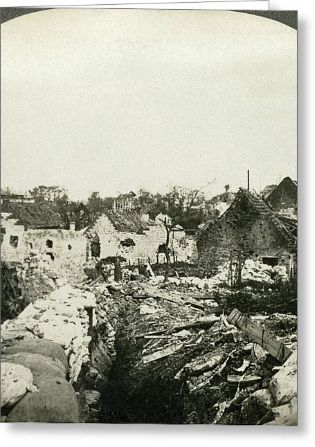 Wwi Ypres, C1916 Greeting Card by Granger