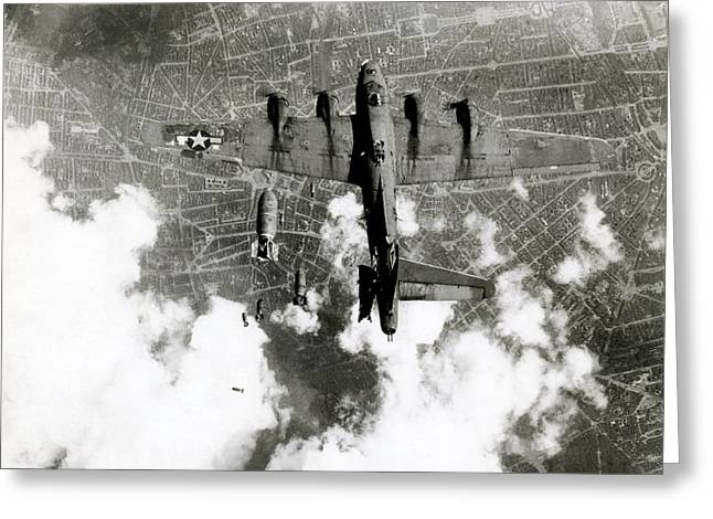 Wwii B-17 Friendly Fire Incident No.3 Greeting Card