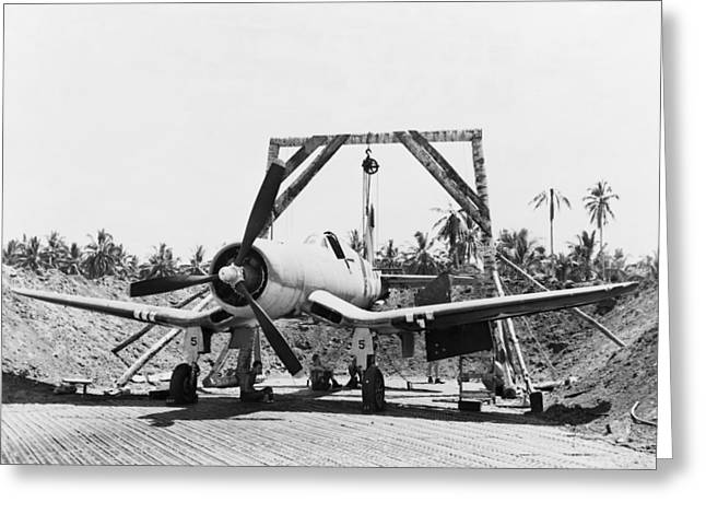 Wwii Fighter Plane, 1943 Greeting Card by Granger