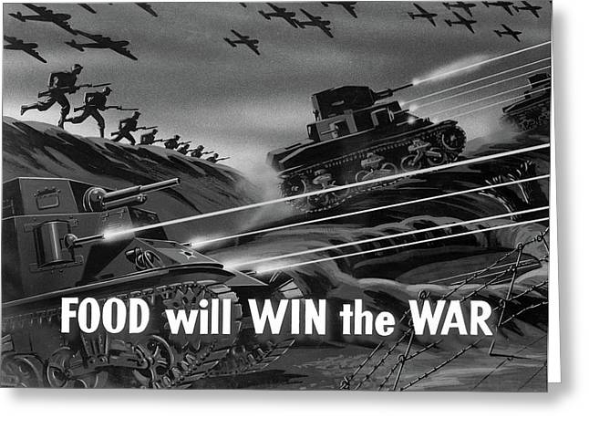Wwii Film Strip, 1942 Greeting Card by Granger